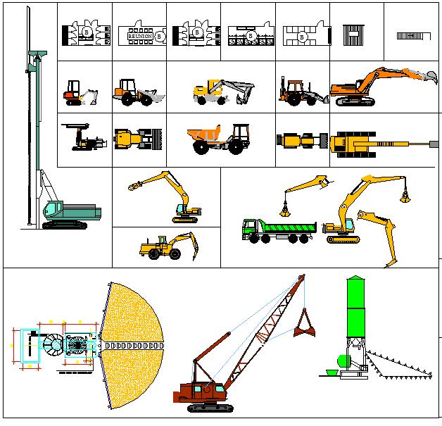 Installation de chantier