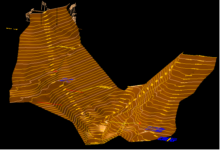METHOCAD terrain 3D
