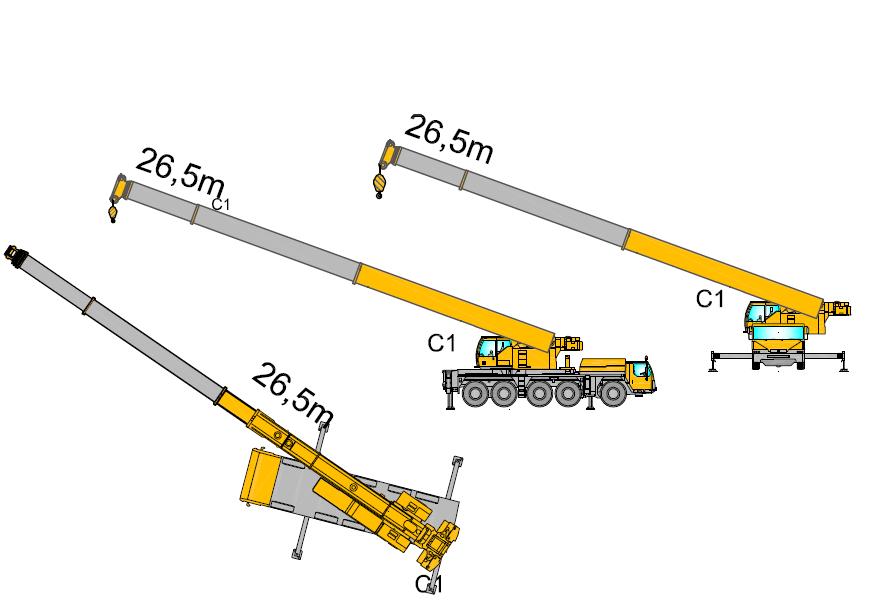 Mobile cranes - MéthoCAD