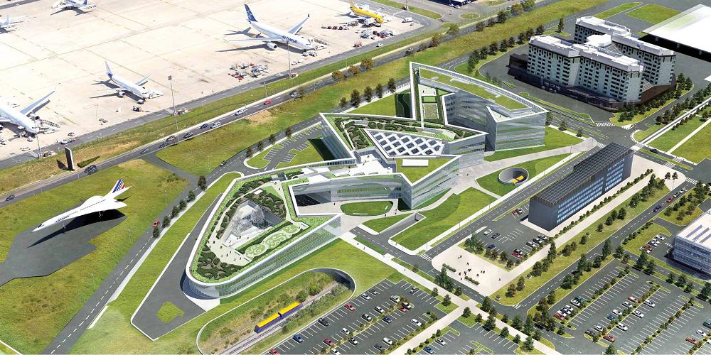 MéthoCAD - Siège aéroport de Paris -
