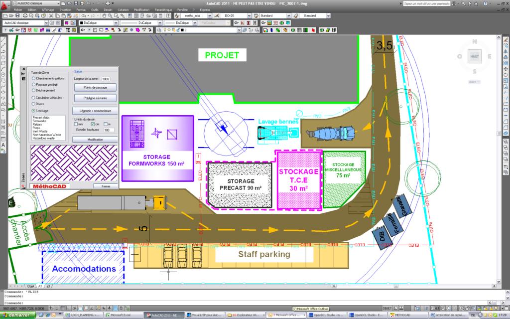Plan d'installation de chantier